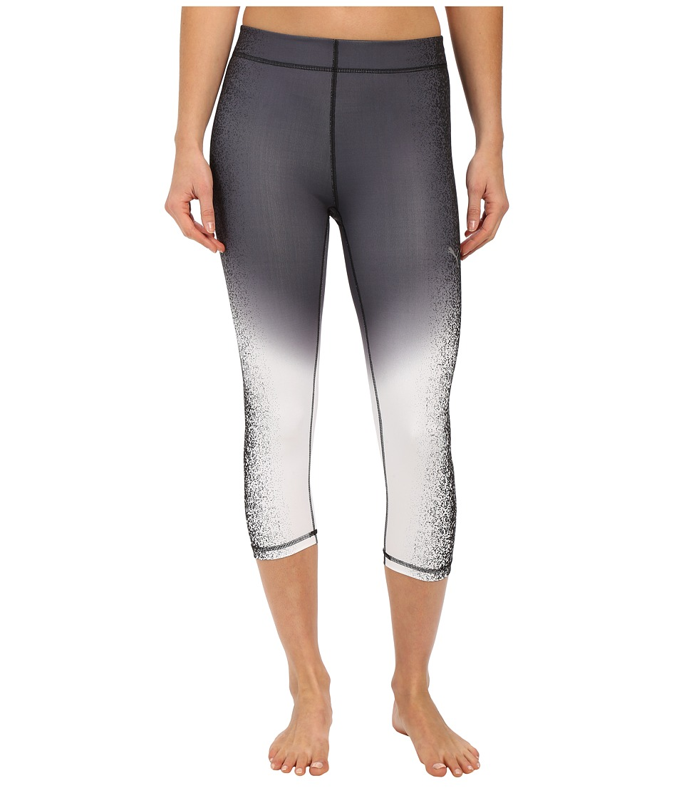 PUMA - All Eyes On Me 3/4 Tights (Periscope/Black) Women's Clothing