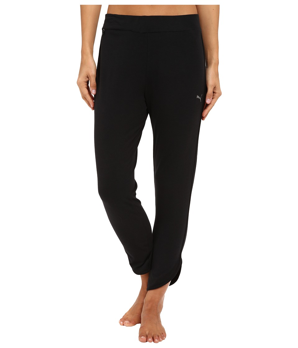 PUMA - Shine Pants (Black) Women's Clothing