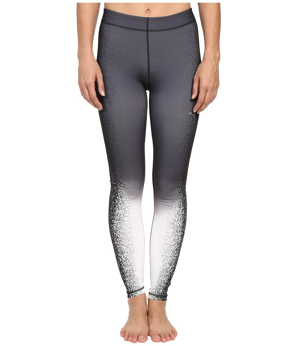 PUMA - All Eyes On Me Tights (Periscope/Black) Women's Clothing