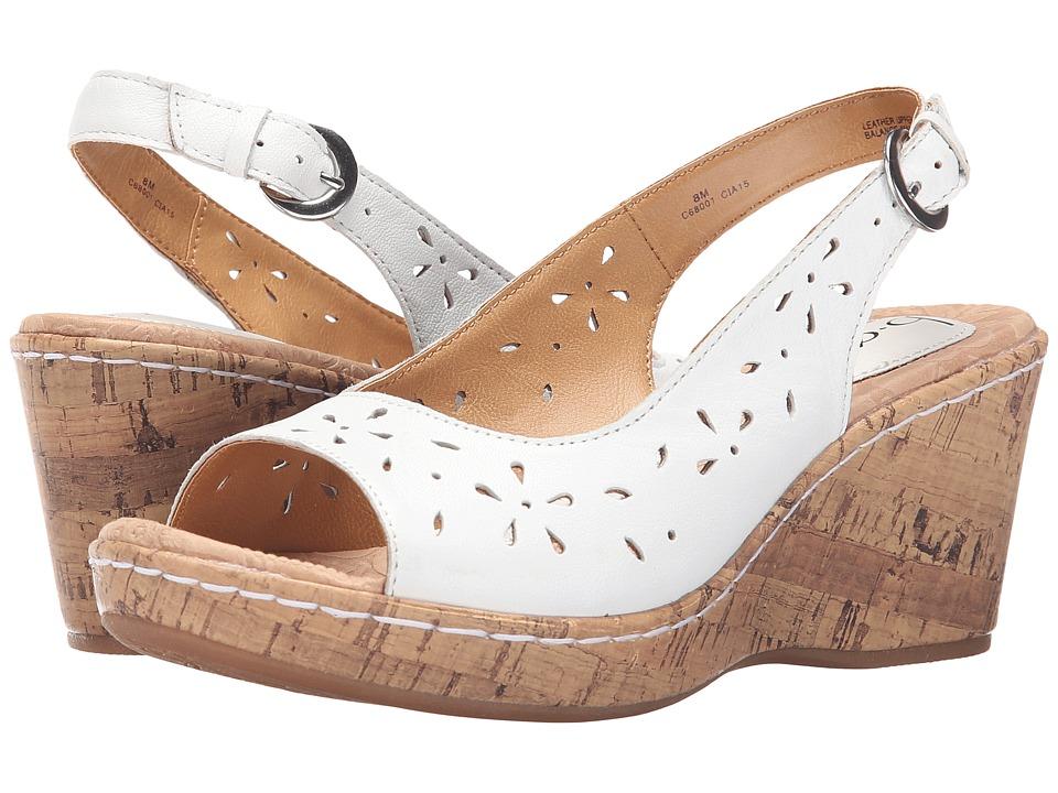 Image of b.o.c. - Andaya (White Full-Grain) Women's Shoes