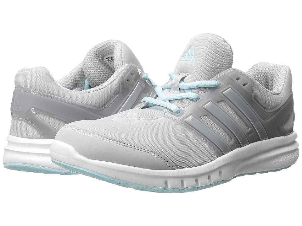 adidas - Galaxy Elite 2 W (Clear Grey/Silver Metallic/Frozen Blue) Women's Running Shoes