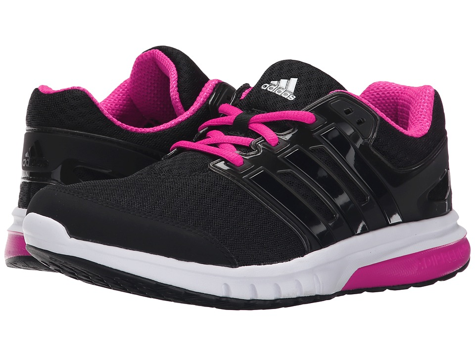 adidas Running - Galaxy Elite 2 W (Black/Shock Pink) Women's Running Shoes