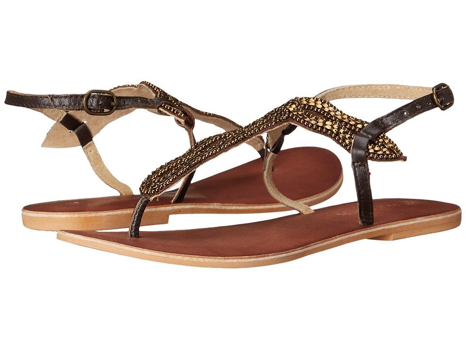 Roper - Montana (Brown) Women's Dress Sandals