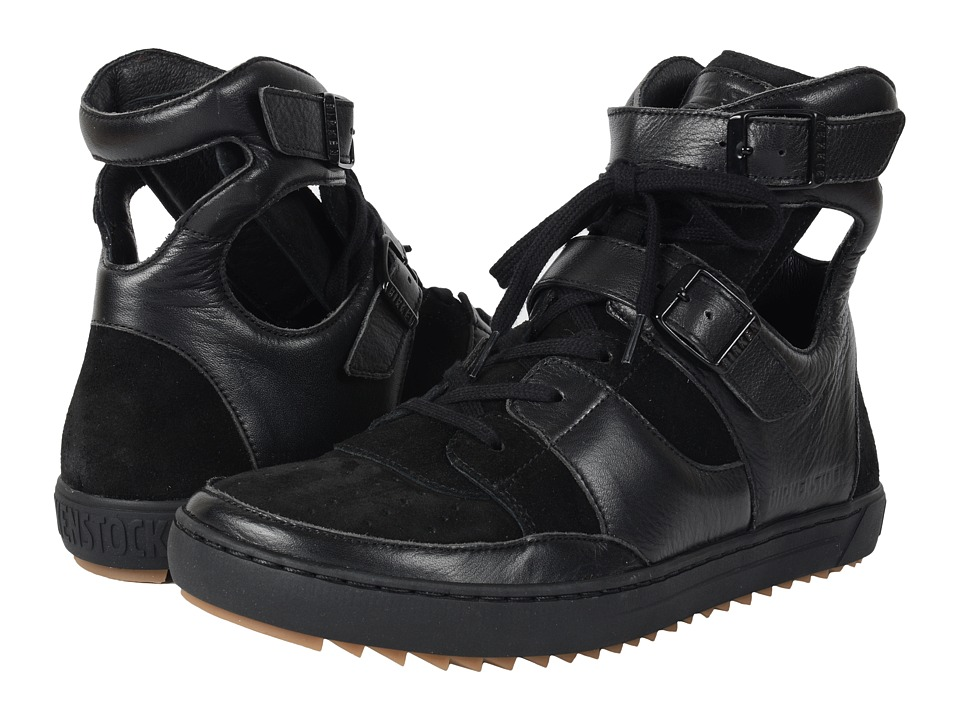 Birkenstock Thessaloniki (Black Leather Suede) Women