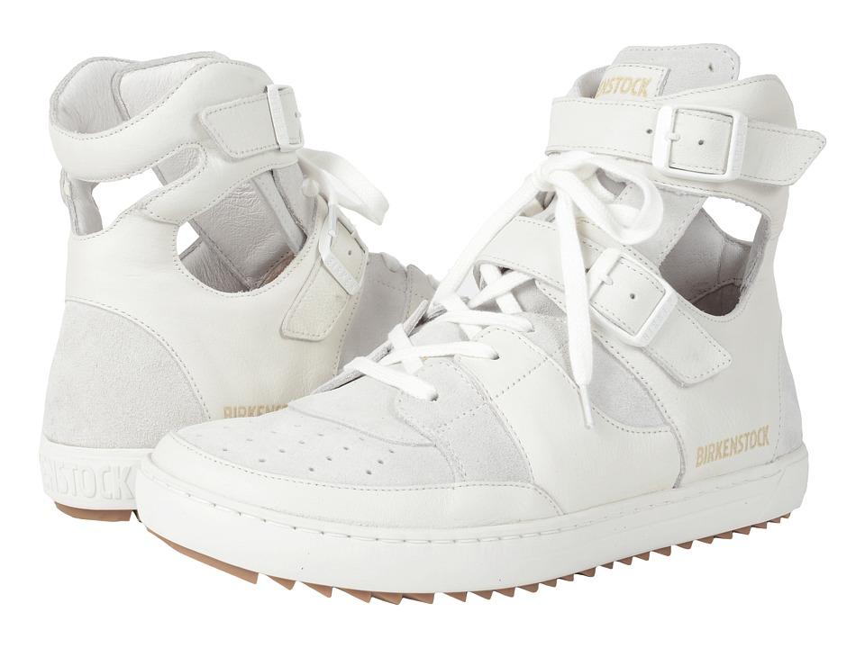 Birkenstock - Thessaloniki (White Leather Suede) Women's Shoes