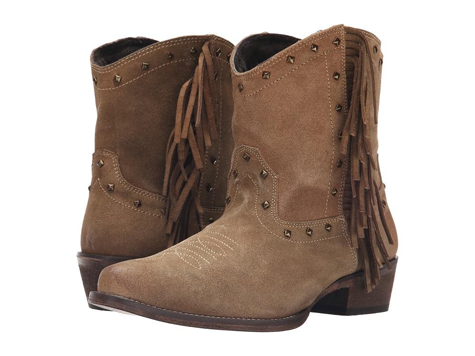 Roper Sassy (Light Beige) Cowboy Boots