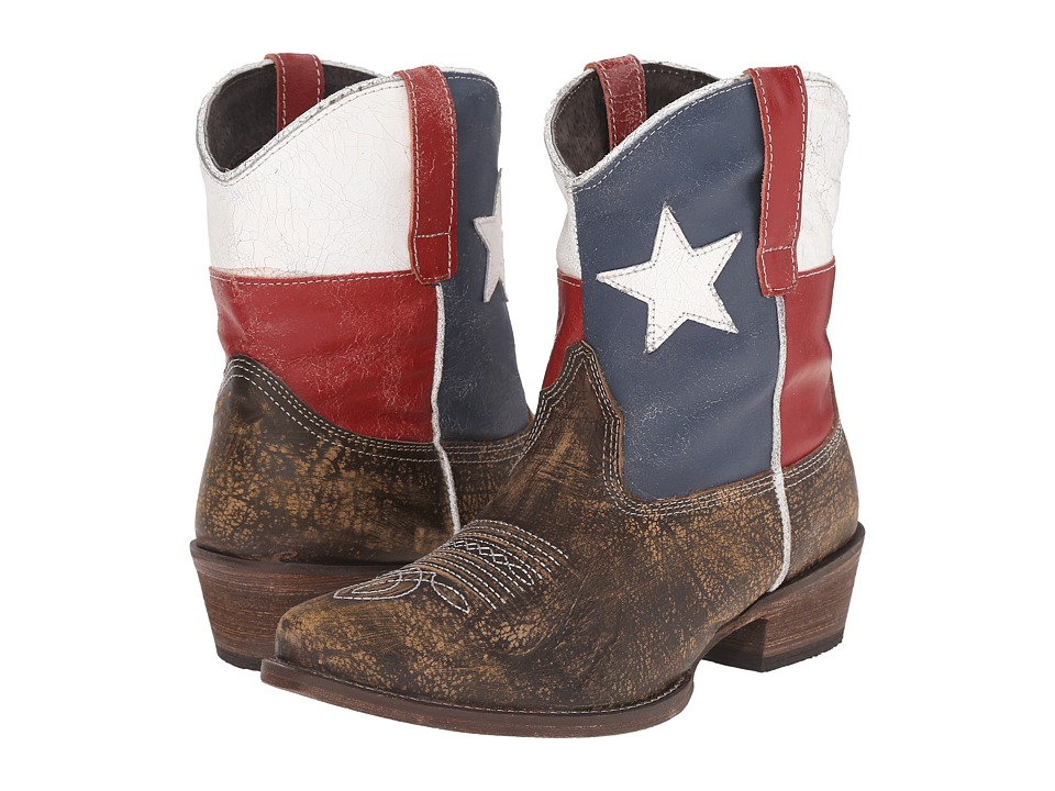 Roper - Texas Beauty (Brown) Cowboy Boots