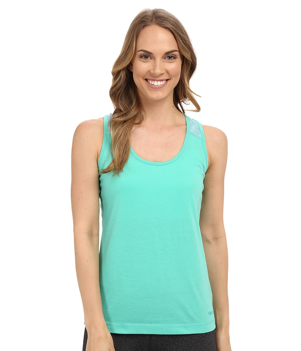 Marmot - Bella Tank Top (Crystal Green) Women's Sleeveless