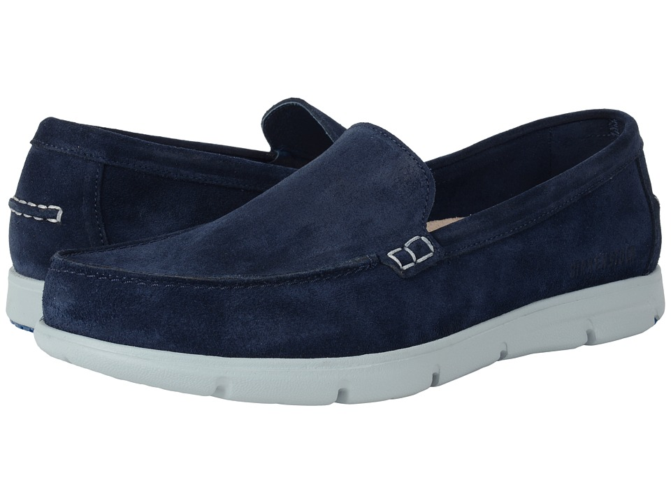 Birkenstock - Domingo (Dark Blue Suede) Shoes