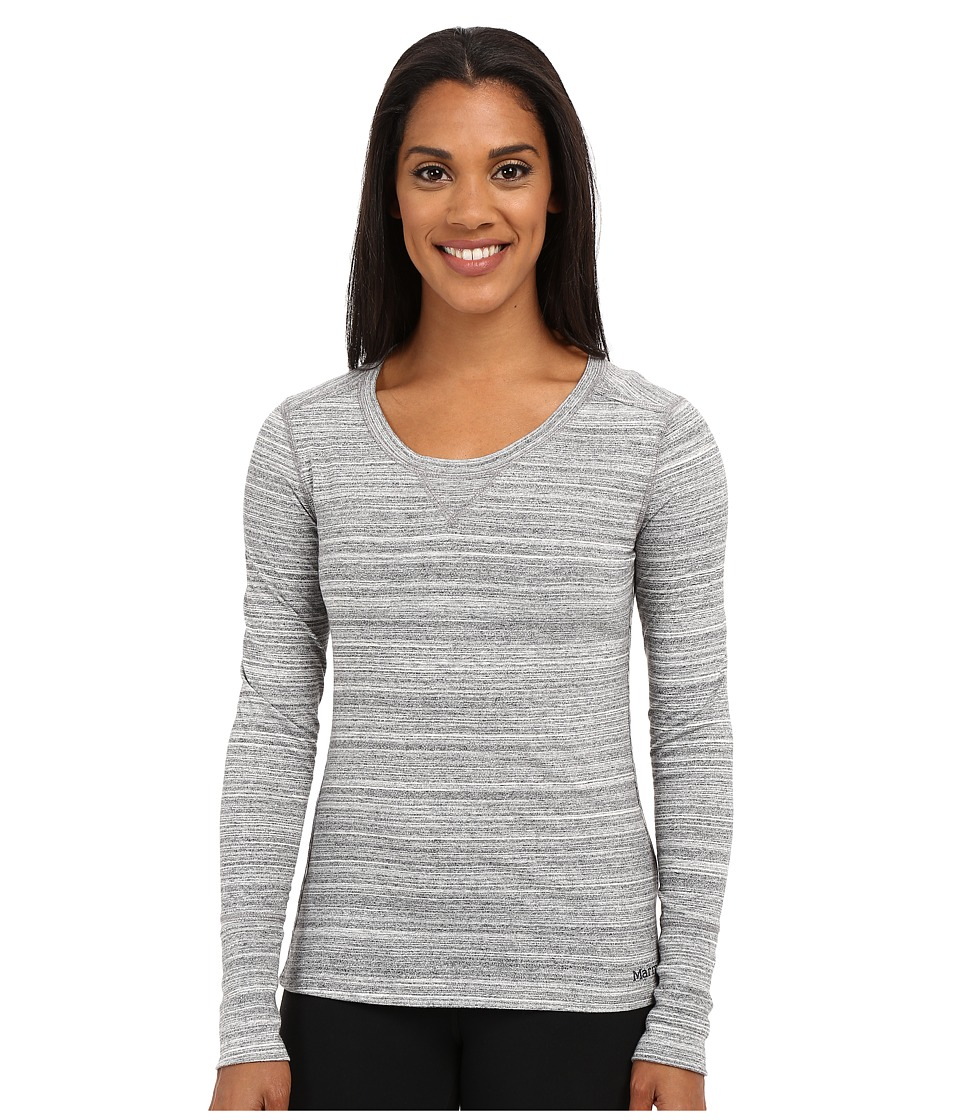 Marmot - Alyssa Long Sleeve (Black) Women's Long Sleeve Pullover