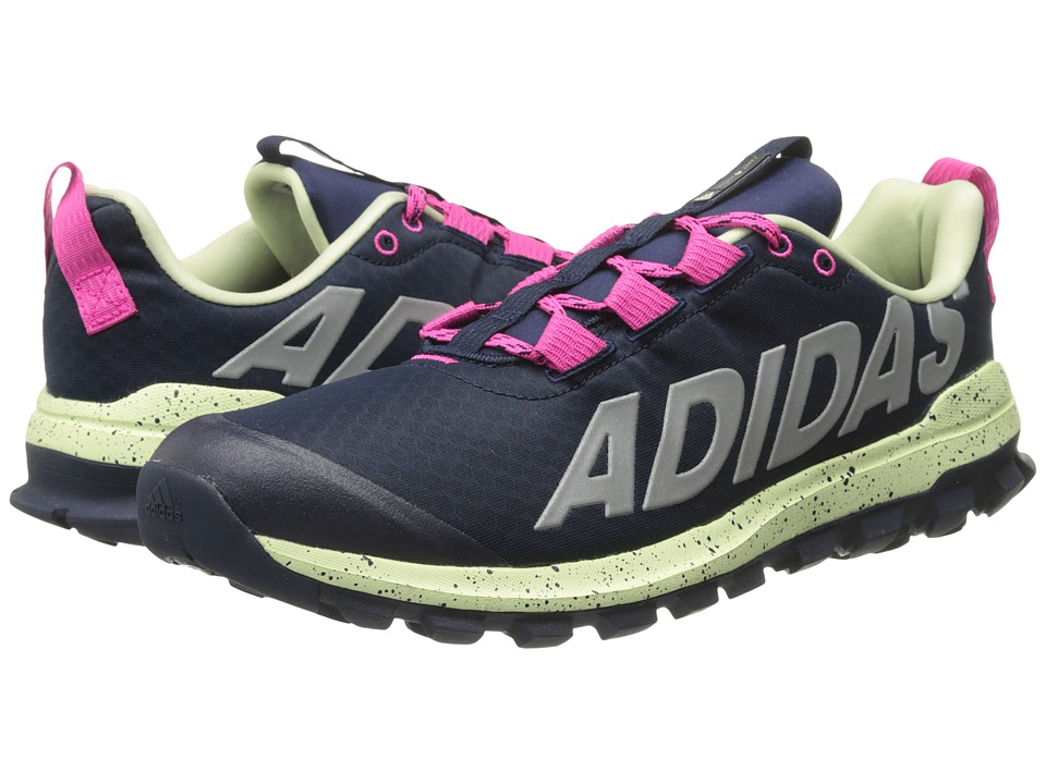 adidas - Vigor 6 TR W (Collegiate Navy/Stock Pink/Halo) Women's Running Shoes