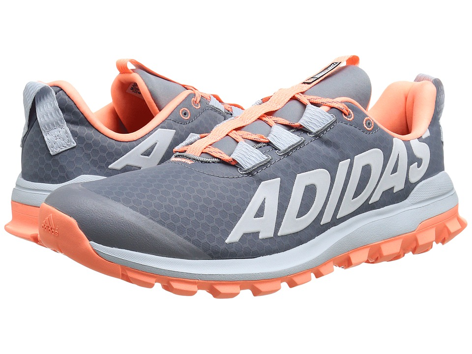 adidas Running - Vigor 6 TR W (Grey/Sun Glow/Halo Blue) Women's Running Shoes