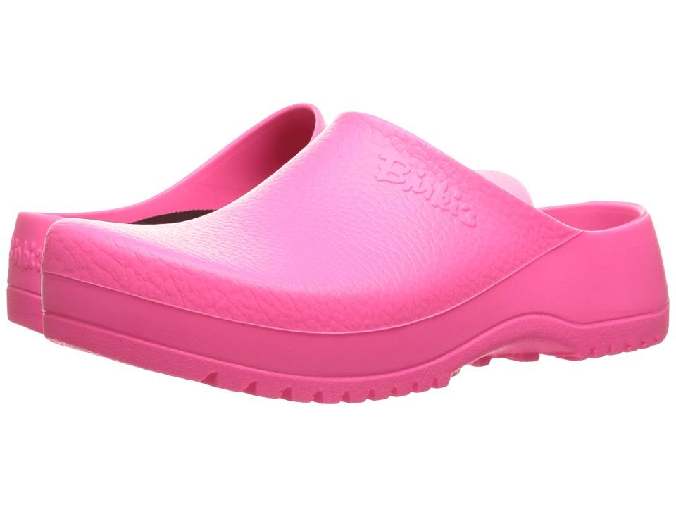Birkenstock - Super Birki (Unisex) (Neon Pink Polyurethane) Shoes