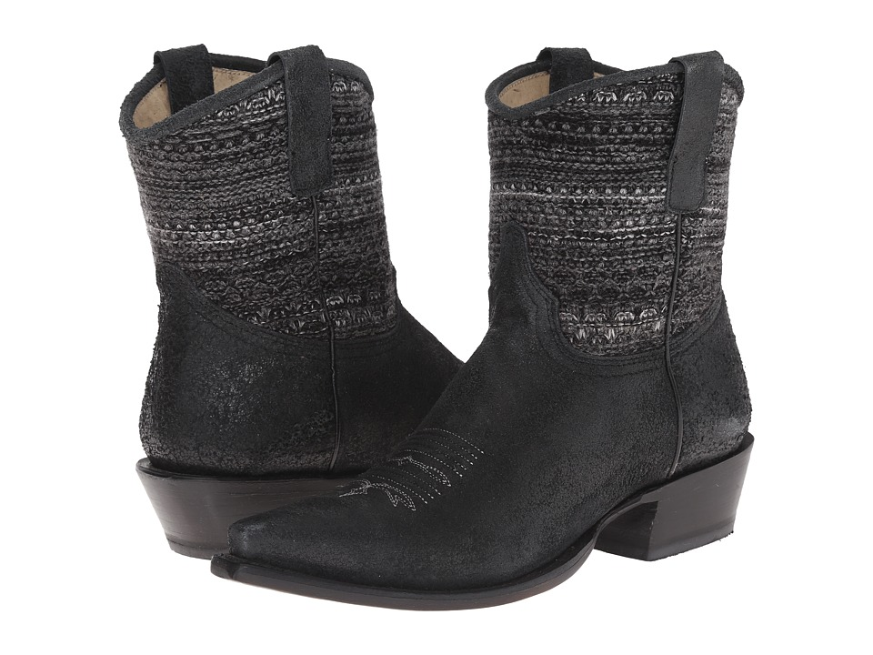 Roper Avril Shorty (Black) Cowboy Boots