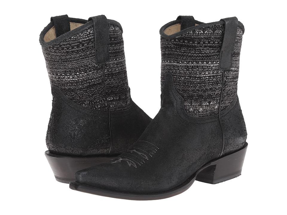 Roper - Avril Shorty (Black) Cowboy Boots