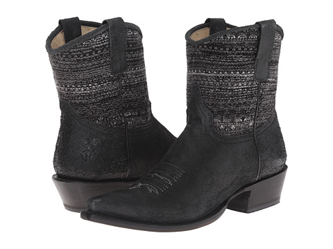 Roper - Avril Shorty (Black) Cowboy Boots