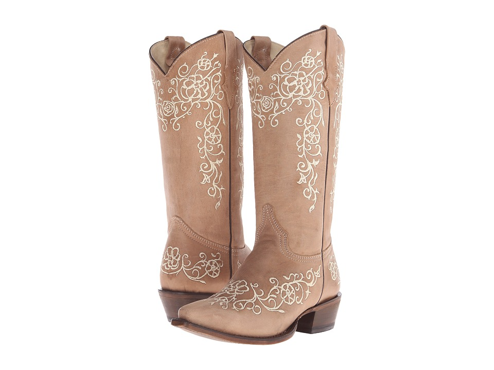 Roper - Bouquet (Light Beige) Cowboy Boots