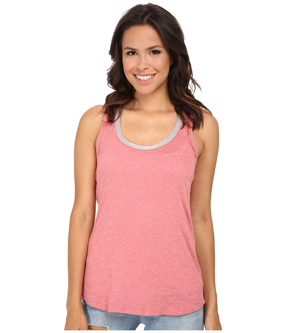 Dylan by True Grit - Vintage Bead Tank Top (Pure Pink) Women's Sleeveless