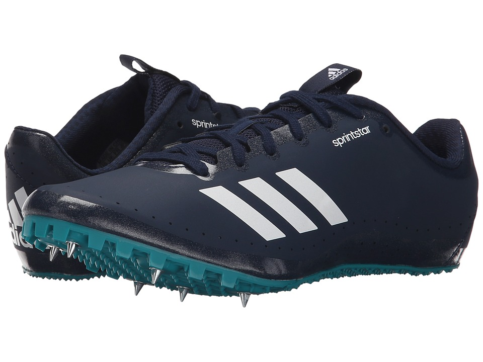 adidas - Sprintstar W (Collegiate Navy/White/EQT Green) Women's Cleated Shoes