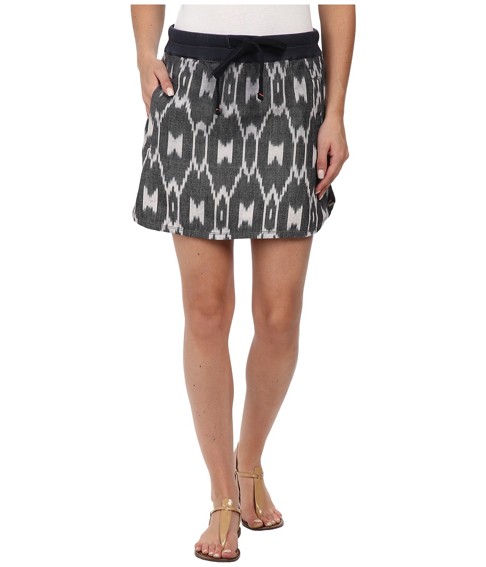 Dylan by True Grit Wanderer Skirt (Vintage Black) Women