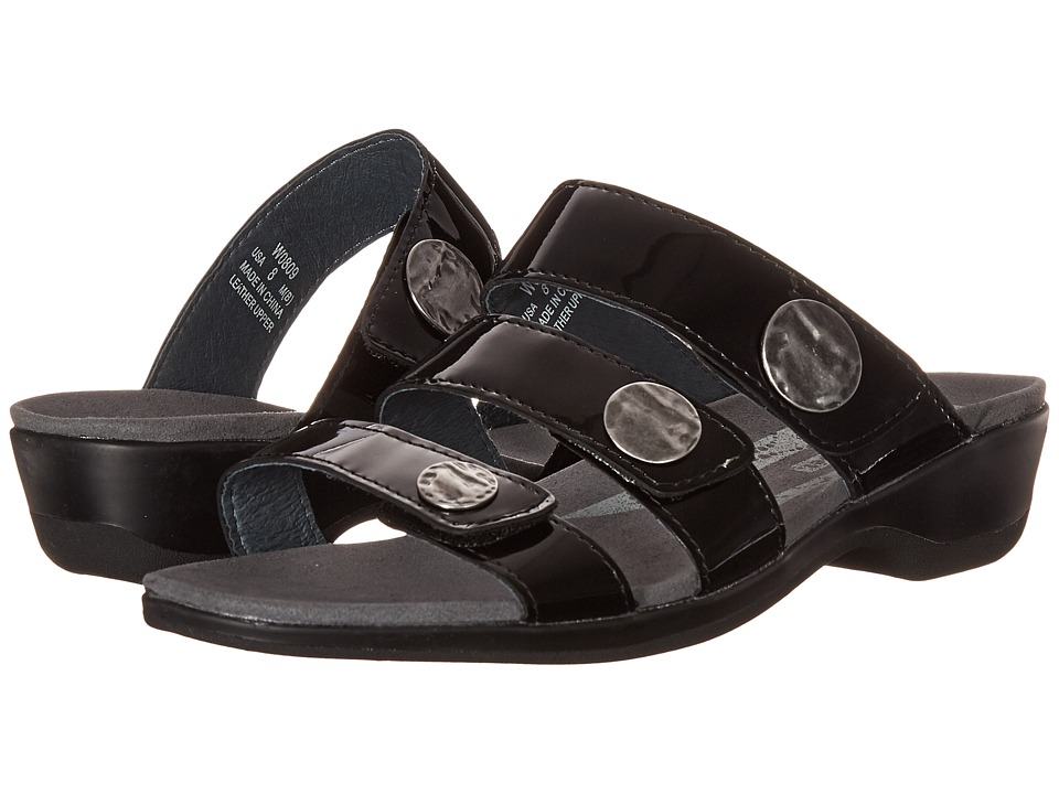 Propet Annika Slide (Black Patent) Women