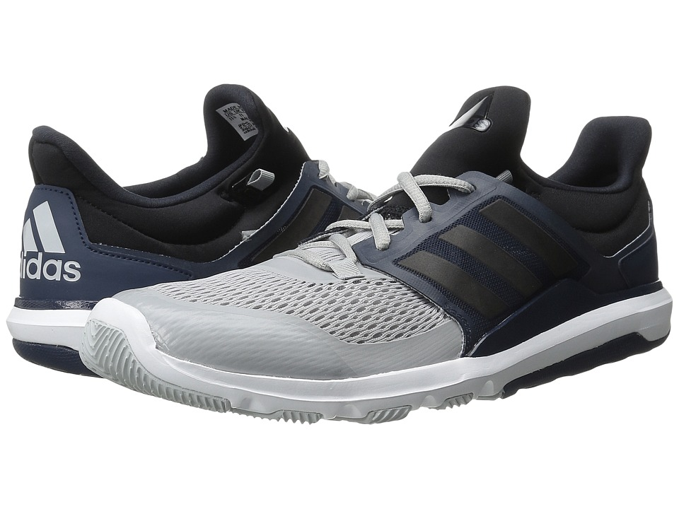 adidas - Adipure 360.3 (Clear Onix/Black/Collegiate Navy) Men's Shoes