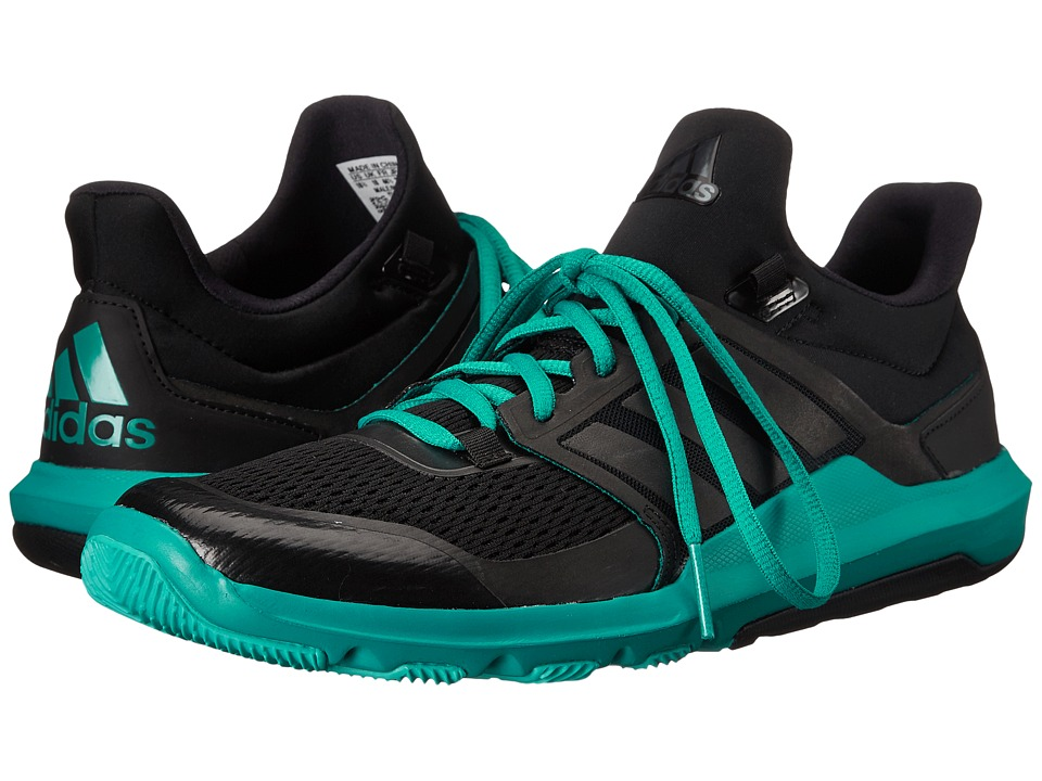 adidas - Adipure 360.3 (Black/EQT Green) Men's Shoes