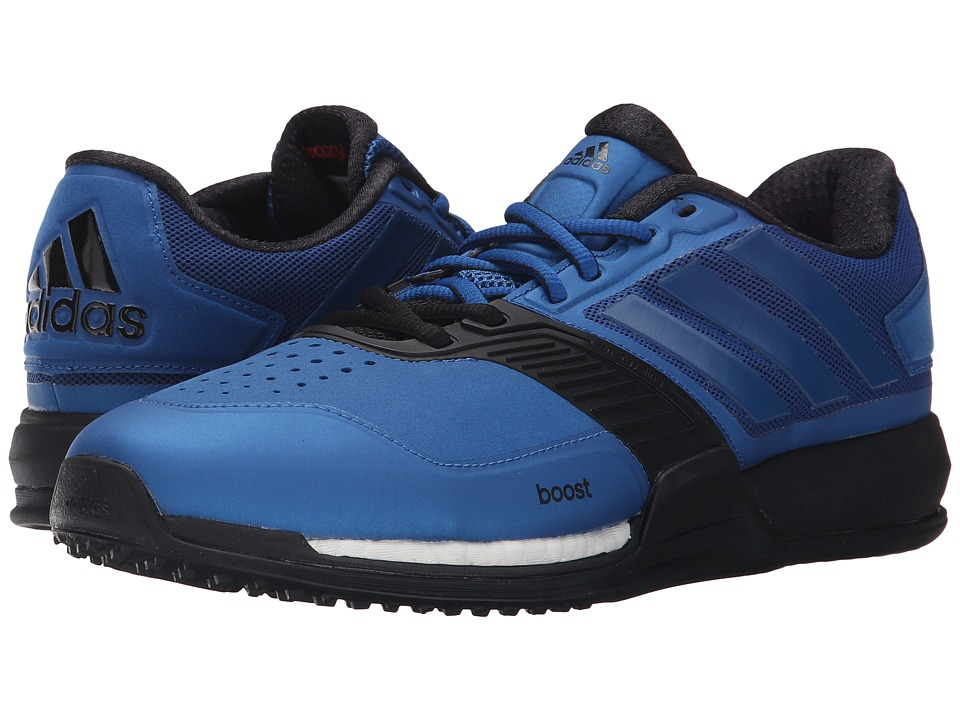 adidas - Crazytrain Boost (EQT Blue/Black) Men's Shoes