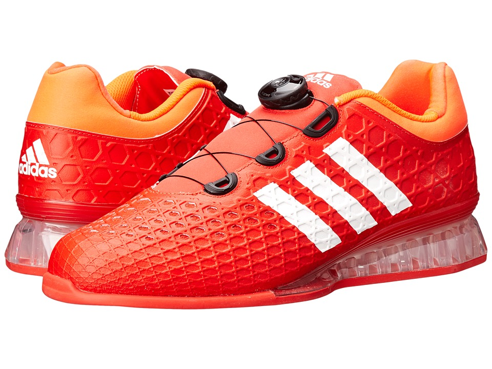 adidas Leistung. 16 (Red/White/Solar Red) Men