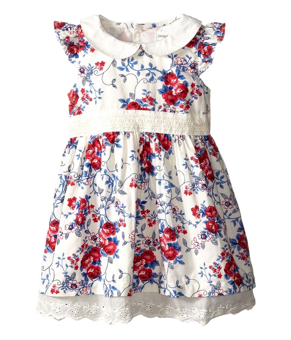 Pumpkin Patch Kids - Urban Folk Holly Hobby Dress (Infant) (Vanilla) Girl's Dress