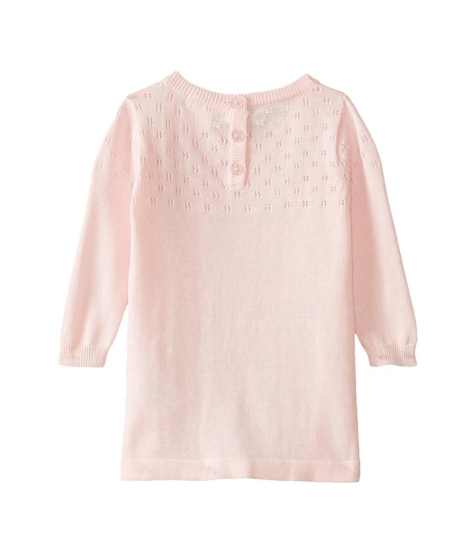 Pumpkin Patch Kids - Dance Academy Pointelle Knit Dress (Infant) (Orchid Pink) Girl's Dress
