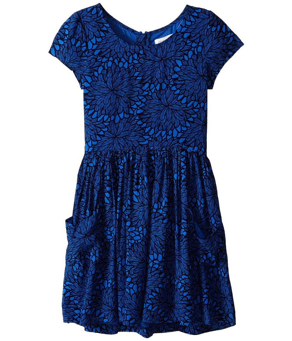 Pumpkin Patch Kids - Pick 'n Mix Skater Dress (Little Kids/Big Kids) (Star Blue) Girl's Dress