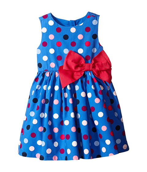 Pumpkin Patch Kids - Pick 'n Mix Spot Dress (Infant/Toddler/Little Kids) (Star Blue) Girl's Dress