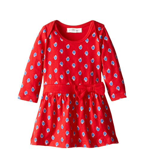 Pumpkin Patch Kids - Urban Folk Strawberry Knit Dress (Infant) (Poppy Red) Girl