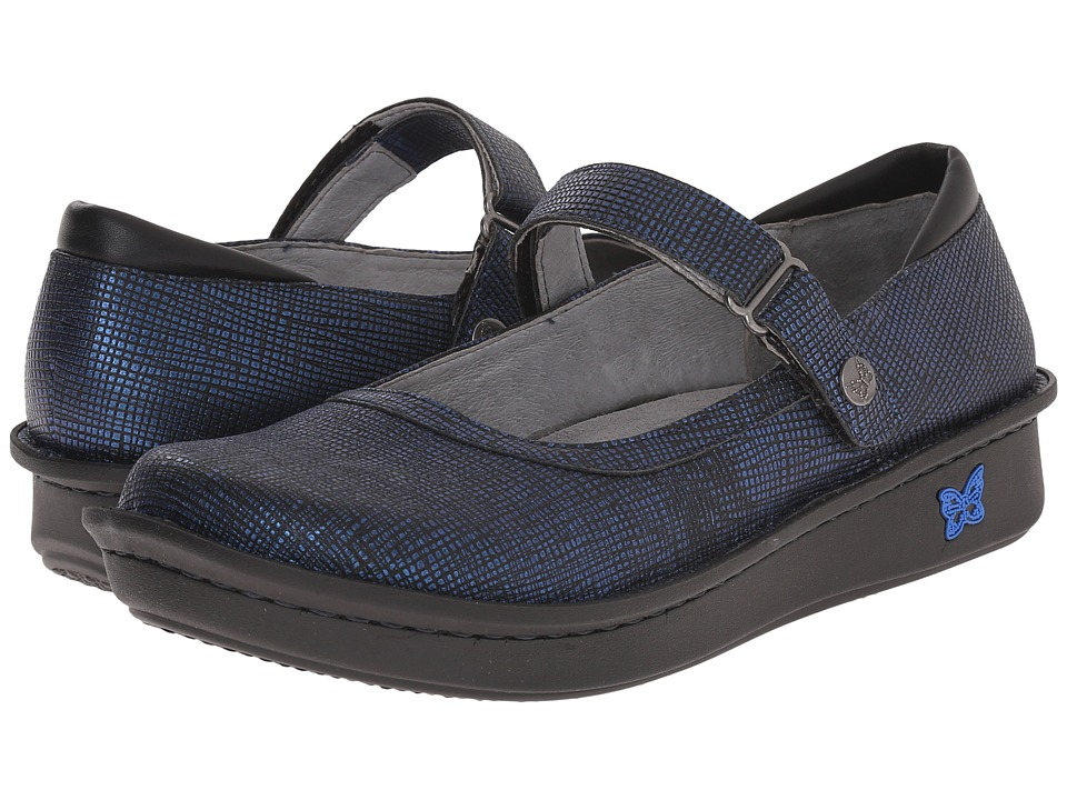 Alegria - Belle (Grid Blue) Women's Maryjane Shoes