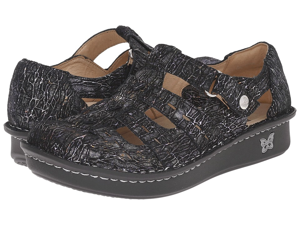 Alegria - Pesca (Totally Cellular) Women's Hook and Loop Shoes