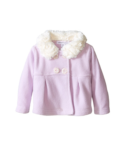 Pumpkin Patch Kids - Finding Anastasia Microfleece Jacket (Infant) (Lilac) Girl's Coat