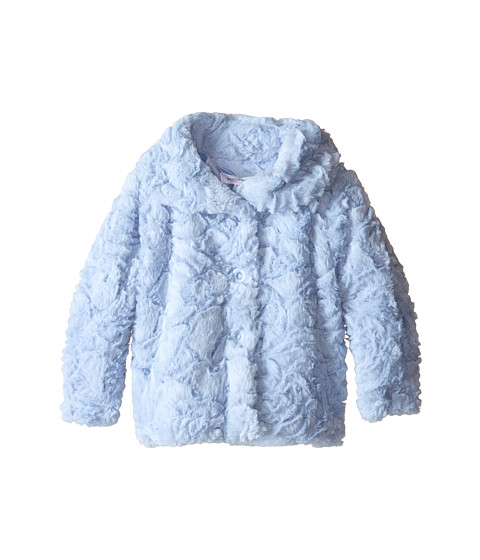 Pumpkin Patch Kids - Urban Folk Fluffy Swirls Jacket (Infant) (Dream Blue) Girl's Coat
