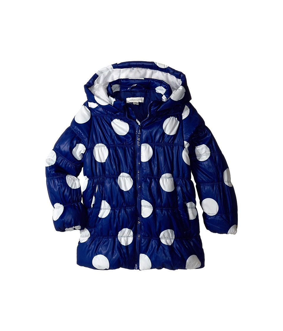 Pumpkin Patch Kids - Urban Folk Spot Puffer Jacket (Infant/Toddler/Little Kids) (Deep Violet) Girl