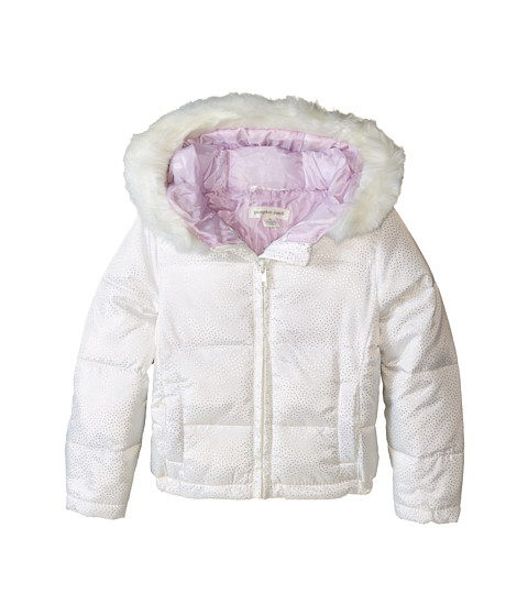 Pumpkin Patch Kids - Finding Anastasia Padded Bomber Jacket (Infant/Toddler/Little Kids) (Vanilla) Girl