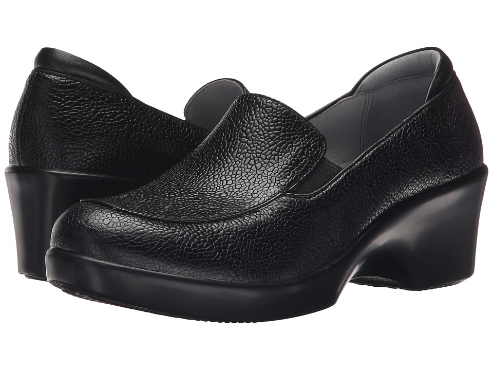 Alegria - Emma (Masonry Black) Women's Slip on Shoes