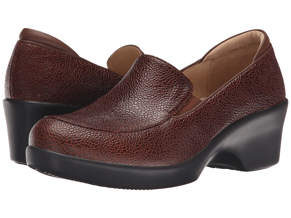 Alegria - Emma (Masonry Choco) Women's Slip on Shoes