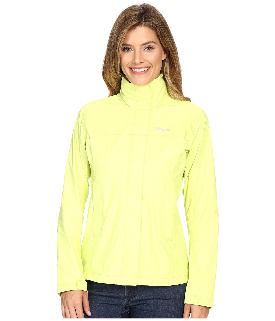 Marmot - PreCip Jacket (Citrus Ice) Women's Jacket