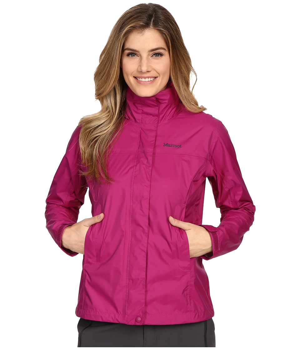 Marmot - PreCip Jacket (Wild Rose) Women's Jacket