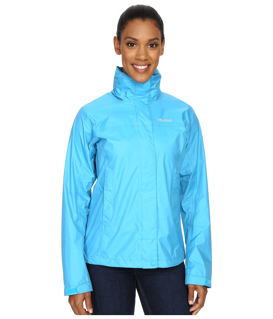 Marmot - PreCip Jacket (Blue Sea) Women's Jacket