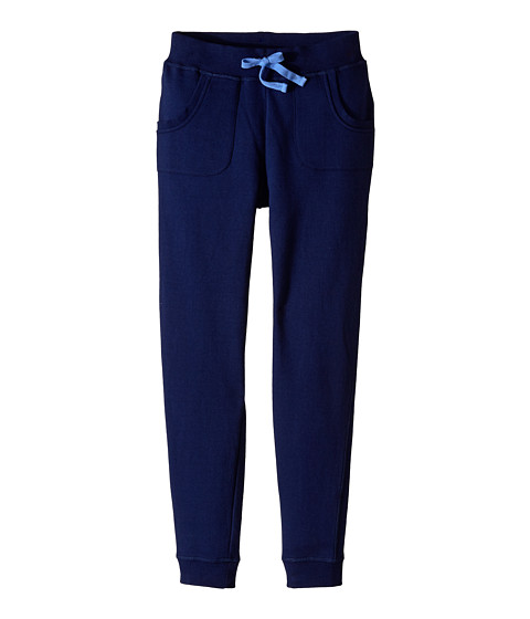 Pumpkin Patch Kids - Urban Folk Knit Joggers (Little Kids/Big Kids) (Medieval Blue) Girl