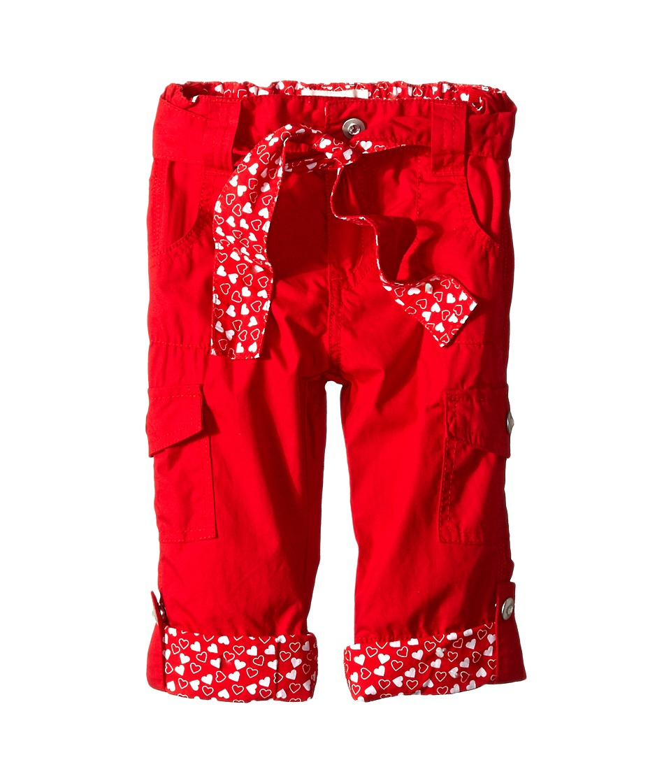 Pumpkin Patch Kids - Urban Folk Cargo Pants (Infant/Toddler/Little Kids) (Scarlet Red) Girl's Casual Pants