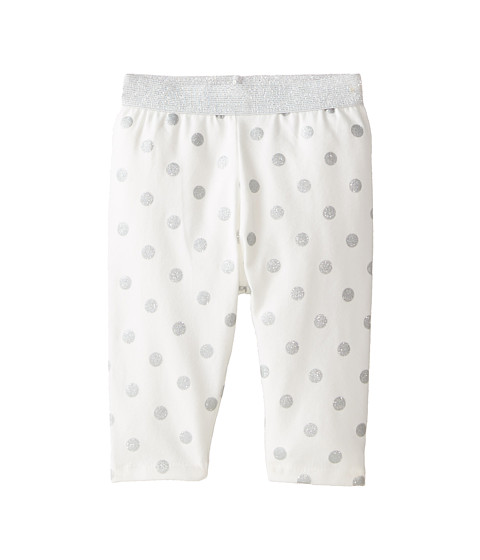 Pumpkin Patch Kids - Dance Academy Glitter Spot Leggings (Infant) (Vanilla) Girl's Casual Pants