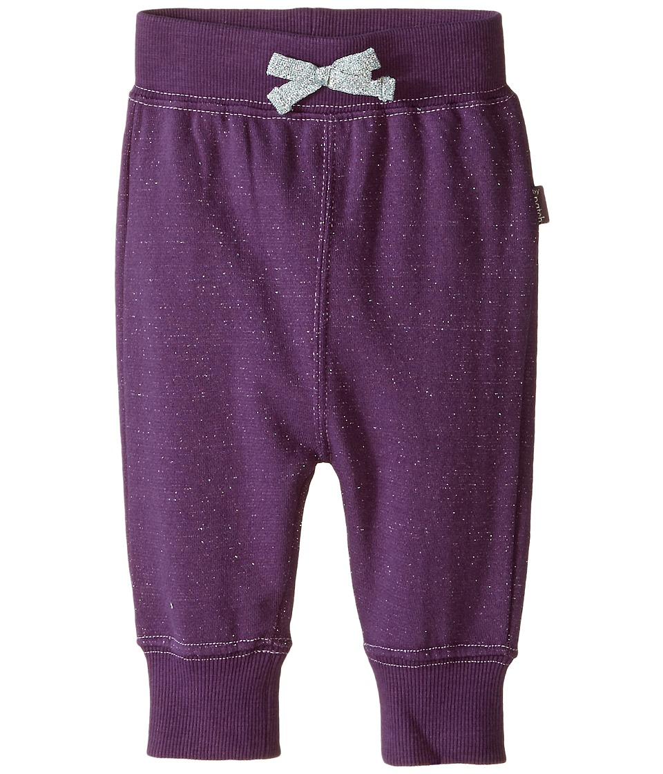Pumpkin Patch Kids - Finding Anastasia Sparkly Joggers (Infant) (Purple Passion) Girl's Casual Pants