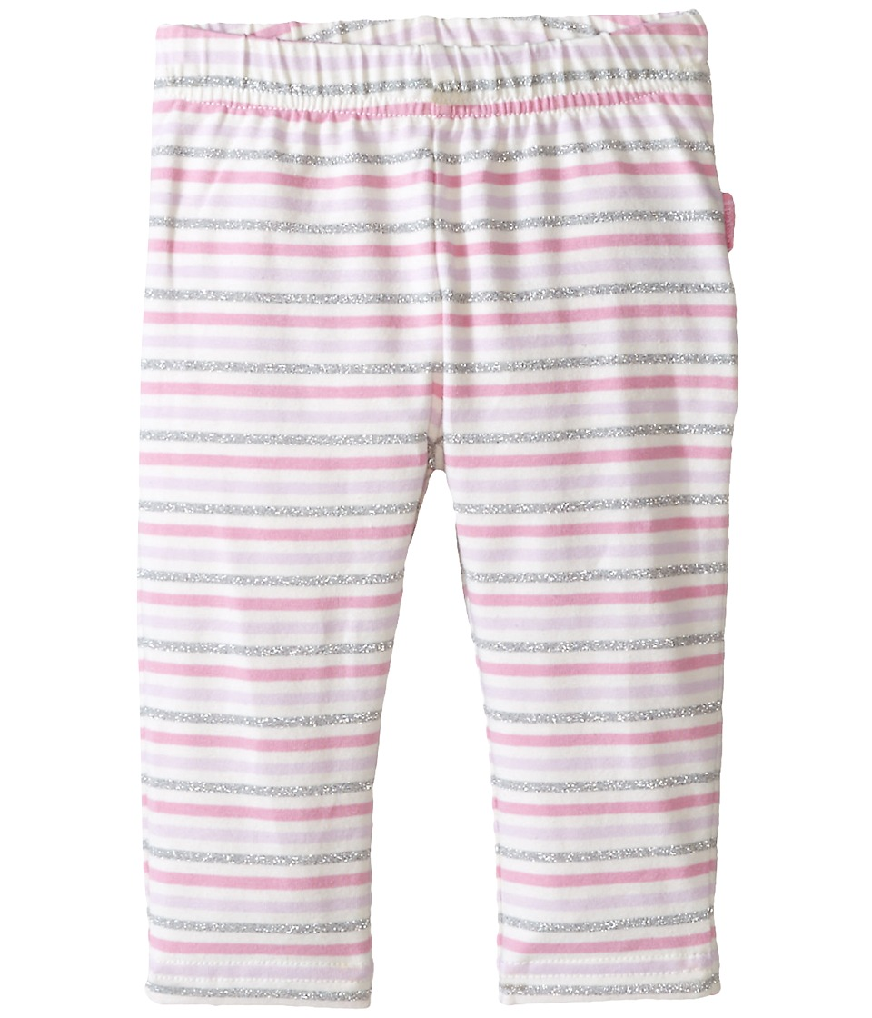 Pumpkin Patch Kids - Finding Anastasia Stripe Ruffle Back Leggings (Infant) (Sherbert) Girl's Casual Pants